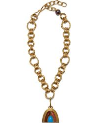 Lizzie Fortunato Pot Of Gold Necklace - Metallic