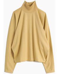 Lemaire Loose Turtleneck Sweater - Multicolour