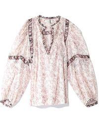 Étoile Isabel Marant Violette Top - Pink
