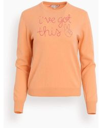 Lingua Franca I've Got This Crewneck - Orange