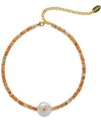 Lizzie Fortunato Destination Necklace - Metallic