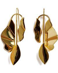 Lizzie Fortunato Golden Coast Earrings - Metallic