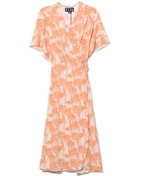 VEDA - Wavelength Dress In Noon Palm - Lyst