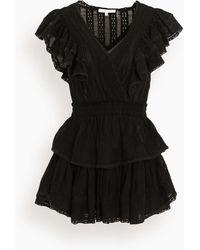 LoveShackFancy Gwen Dress - Black