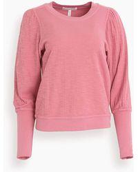 Apiece Apart Olimpio Sweatshirt - Pink