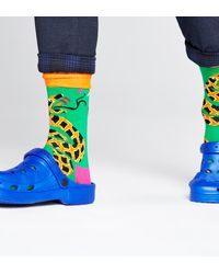 Happy Socks Tropical Snake Sock - Meerkleurig
