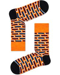 Happy Socks Wool Brick Sock - Zwart