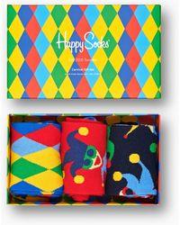 Happy Socks Carnival 3-pack - Meerkleurig