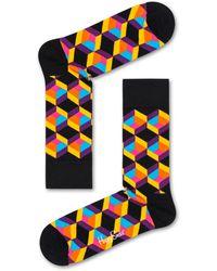 Happy Socks Optiq Square Sock - Multicolor