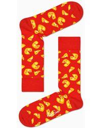 Happy Socks Pizza Sock - Rouge