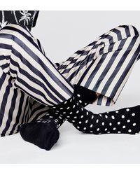 Happy Socks Dot Sock - Negro