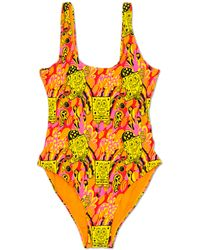 Happy Socks Spongebob Pink Swimsuit - Oranje