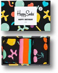 Happy Socks Balloon Animal Birthday Gift Box - Mehrfarbig