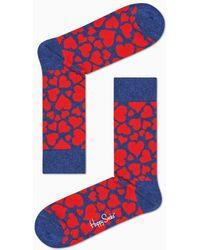 Happy Socks Heart Sock - Meerkleurig