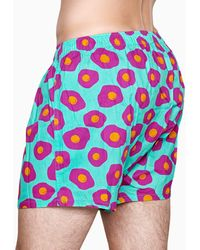 Happy Socks - Sunny Side Up Boxer - Lyst