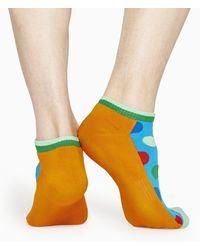 Happy Socks Athletic Big Dot Low Sock - Multicolore
