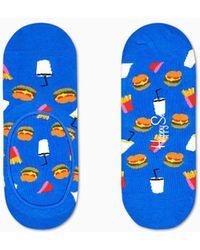 Happy Socks - Hamburger Liner Sock - Lyst