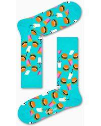 Happy Socks - Hamburger Sock - Lyst