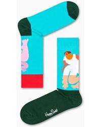 Happy Socks Kiss My Sass Sock - Multicolore