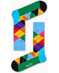 Happy Socks Argyle Sock - Azul