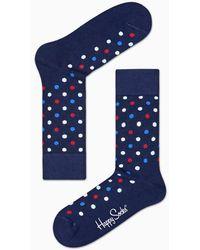 Happy Socks - Dot Sock - Lyst