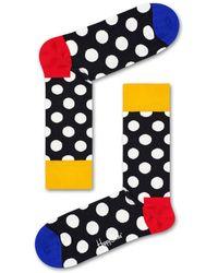 Happy Socks Big Dot Sock - Gelb