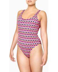 Happy Socks Optic Square Swimsuit - Multicolore