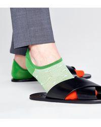 Happy Socks Dressed Planet No Show Sock - Groen