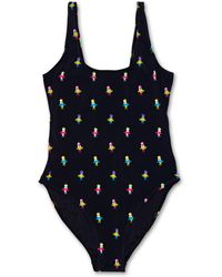 Happy Socks Hula Swimsuit - Zwart