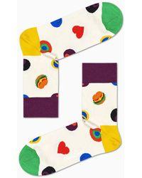 Happy Socks - Symbol Dot 1/2 Crew Sock - Lyst