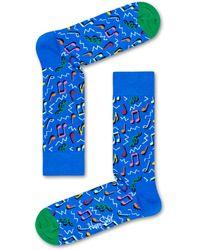 Happy Socks City Jazz Sock - Azul