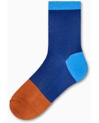Happy Socks Liza Ankle Sock - Bleu