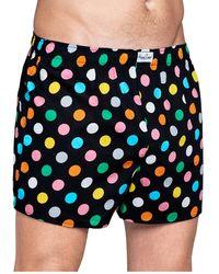 Happy Socks Big Dot Boxer - Blauw