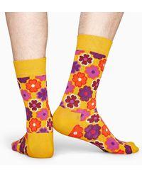 Happy Socks Flower Power Sock - Multicolore