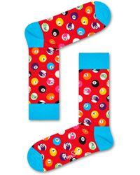 Happy Socks Pool Sock - Rot