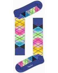 Happy Socks Argyle Knee High Sock - Multicolor