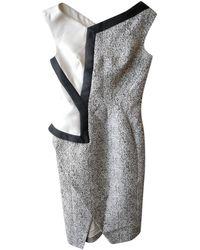 Antonio Berardi Asymmetric Dress - Gray