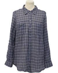 Joie Chequered Shirt - Blue