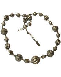 Oscar de la Renta Vintage Necklace - Gray
