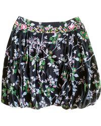KENZO Floral Tulip Skirt - Black