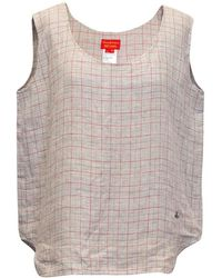 Vivienne Westwood Red Label Grey Chequered Tunic - Gray