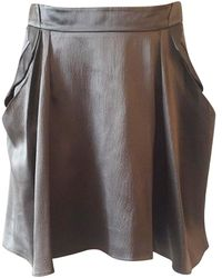 Vanessa Bruno Tulip Silk Skirt - Gray