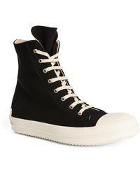 Rick Owens High-top Sneakers - Black
