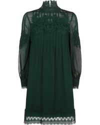 Ted Baker - Anneah Lace High Neck Tunic - Lyst