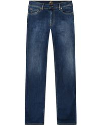7 For All Mankind - Standard Straight Luxe Performance Jeans - Lyst