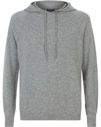 Harrods - Hooded Cashmere Sweater - Lyst