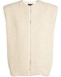 Isabel Marant Wool-blend Gwendae Gilet - Natural