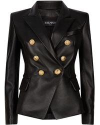e7d7b878ba Women's Balmain Jackets - Lyst