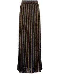 Missoni - Pleated Lurex Maxi Skirt - Lyst