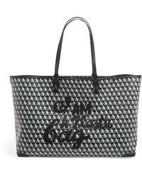 Anya Hindmarch I Am A Plastic Bag Tote Bag - Grey
